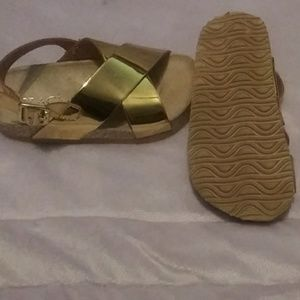 Children's Place Shoes - ToddlerGold sandals